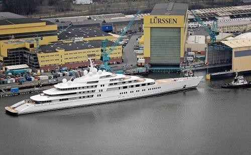 Azzam: әлемдегі ең үлкен яхта