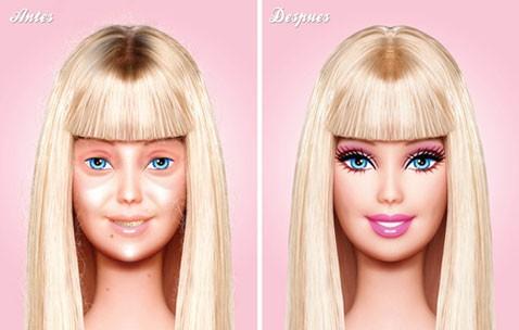 Макияжсыз Барби