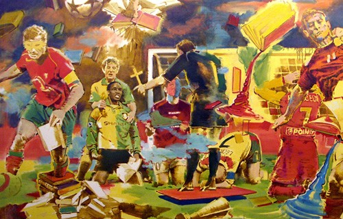Әртістер арасында футболдан әлем чемпионаты өтеді
