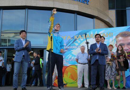 Алматылықтар Олимпиада жүлдегерлерін қалай қарсы алды?