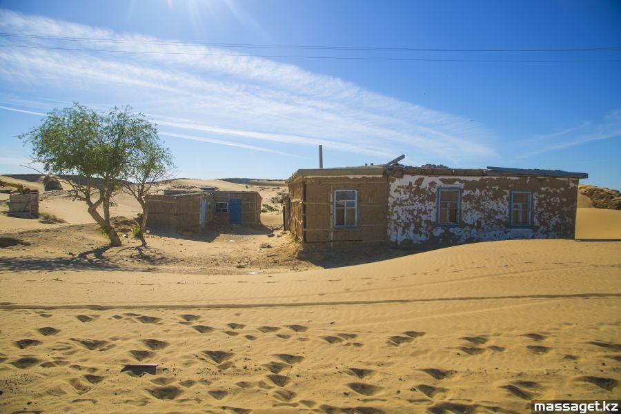 Ақеспе – құмға көмілген ауыл