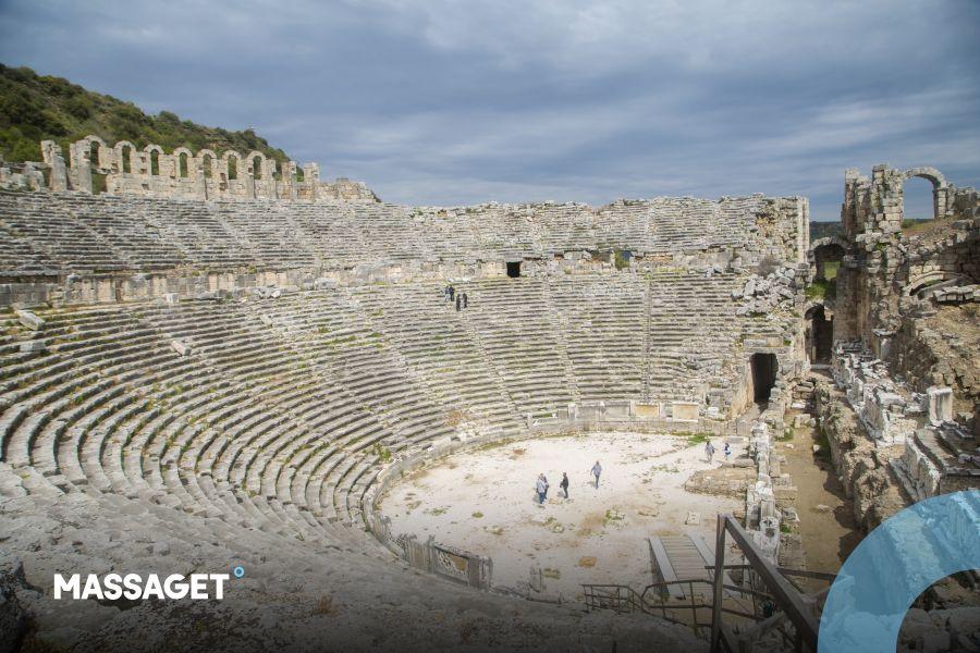 Ақсу ауданында Рим империясының көне қаласы бар