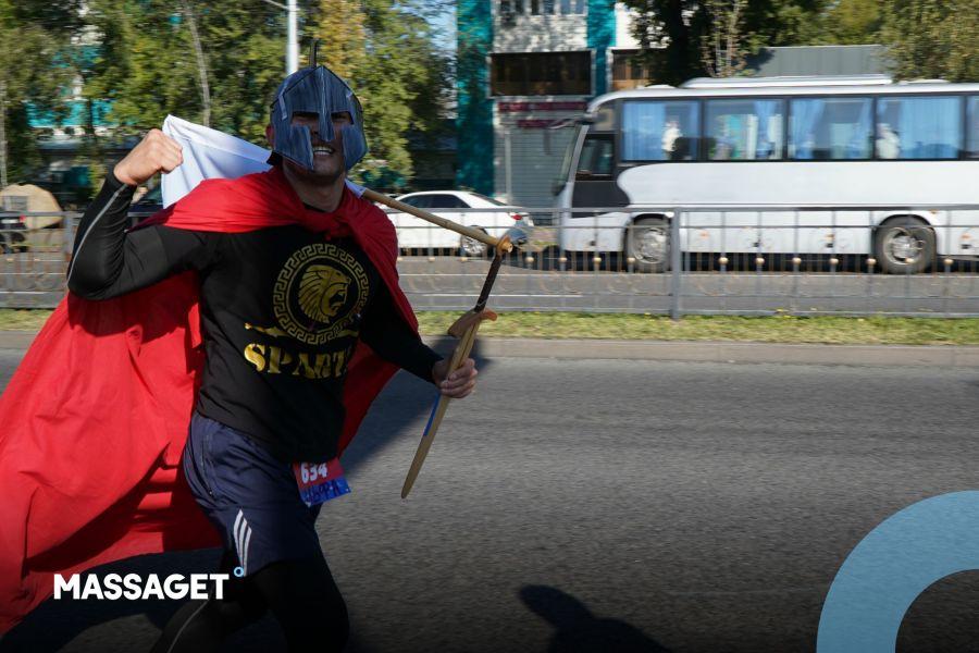Алматыдағы спорт тойы. Жартылай марафон қалай өтті?