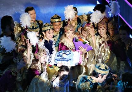 «Денис және достары: Сәлем Алматы» мұзды шоуының ең үздік сәттері