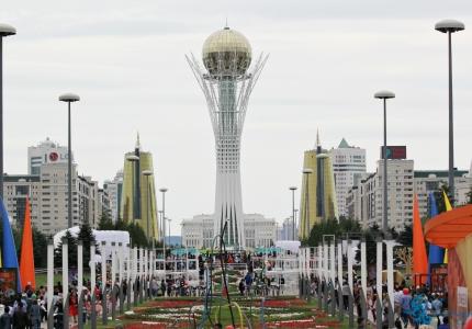 Ел жүрегі - Астана!