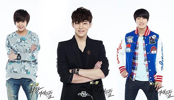 К-поп: Ең қайраттысы тірі қалады / К-поп: Школа выживания / Strongest k-pop survival (2-бөлім)