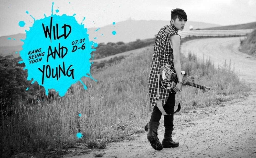 Kang Seung Yoon - Wild and Young [қазақша субтитрлер]