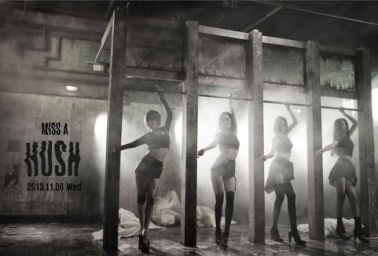 Miss A - Hush [қазақша субтитрлермен]