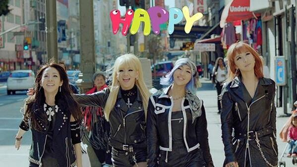 2NE1 - HAPPY [kaz_sub]