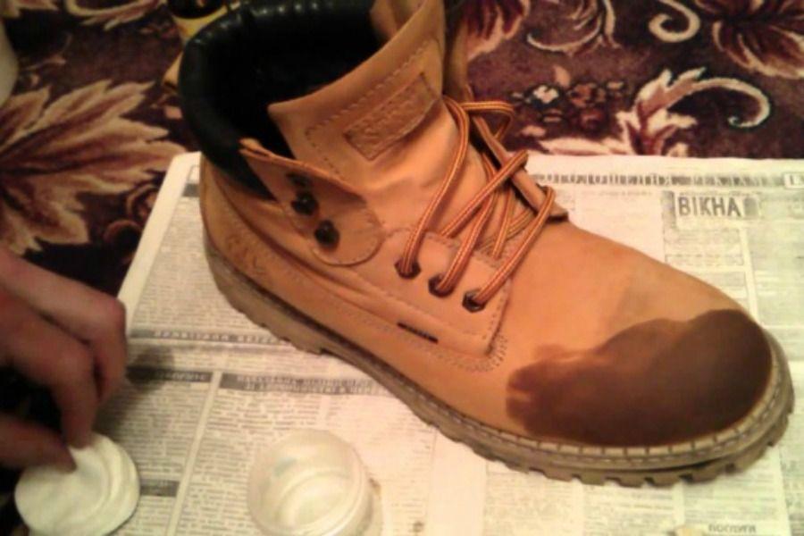 Ремонт замшевой обуви в домашних условиях