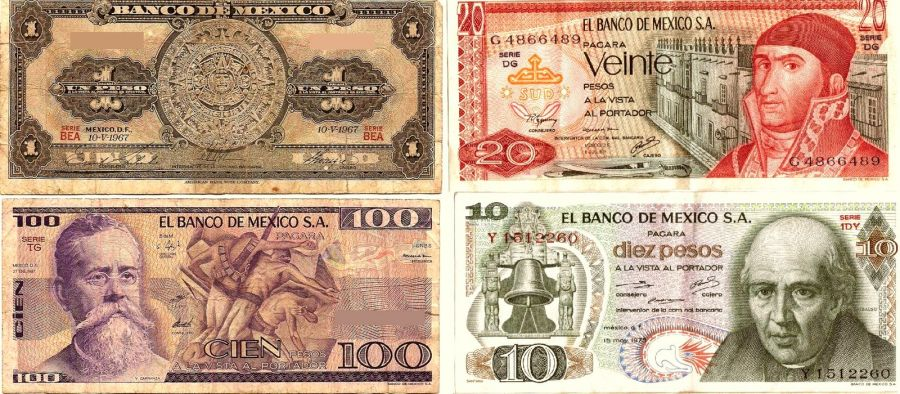 Поменять мексиканские песо москва