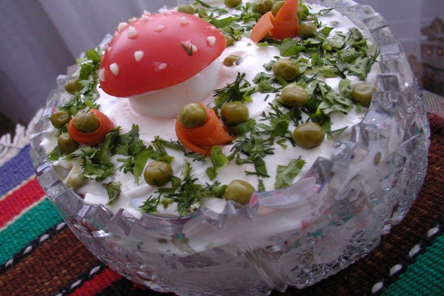 Рецепты салатов с новые вкусные