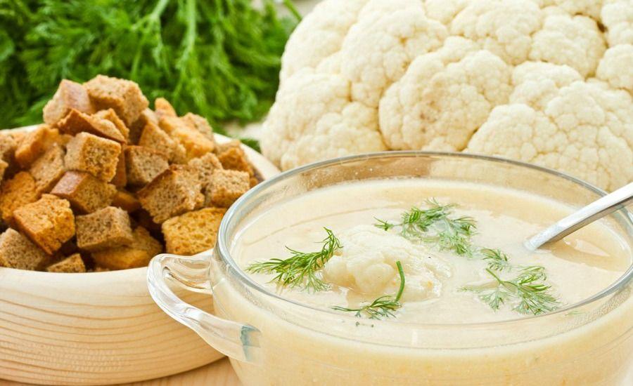 Суп из чечевицы с цветной капустой  кулинарный рецепт