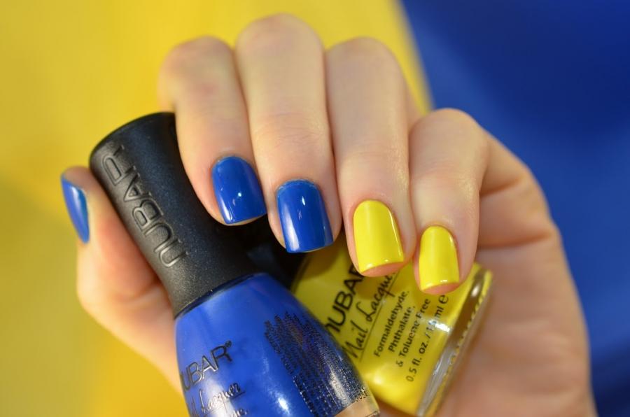Гель лак цвета на ногтях с тонами