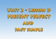 Ағылшын тілін үйрену сабақтары. Present perfect and past simple