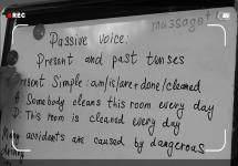 Ағылшын тілін үйрену сабақтары. Passive voice: Present and past tenses
