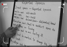 Ағылшын тілін үйрену сабақтары. Reported speech