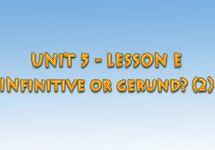 Ағылшын тілін үйрену сабақтары. Infinitive or gerund? (2)
