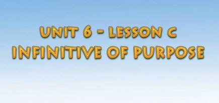 Ағылшын тілін үйрену сабақтары. Infinitive of purpose
